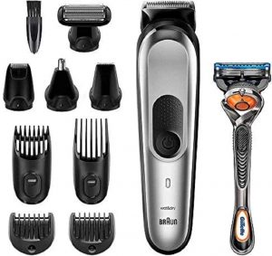 Afeitadora Corporal para hombres Braun MGK7020 10 en 1 - Las mejores afeitadora corporales para hombres que comprar en internet - Afeitadora Corporal para hombres online