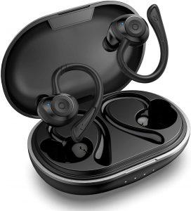 Auriculares inalámbricos Bluetooth HolyHigh - Los mejores auriculares inalámbricos bluetooth para hacer deporte que comprar por internet - Mejores cascos inalámbricos para hacer deporte