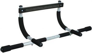 Barra de dominadas para Marco de la Puerta sin Tornillos Iron Gym - Las mejores barras de dominadas para entrenamiento en casa que comprar por internet - Mejores barras para hacer dominadas