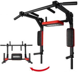 Barra de dominadas para Pared de OneTwoFit- Las mejores barras de dominadas para entrenamiento en casa que comprar por internet - Mejores barras para hacer dominadas