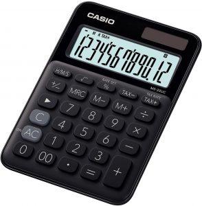 Calculadora básica Casio MS-20UC-YG - Las mejores calculadoras científicas que comprar por internet - Mejor calculadora científica del mercado