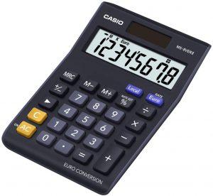 Calculadora básica Casio MS-8VERII - Las mejores calculadoras científicas que comprar por internet - Mejor calculadora científica del mercado