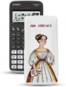 Calculadora científica Casio FX-570SPXII Iberia con ilustración de Ada Lovelace - Las mejores calculadoras científicas que comprar por internet - Mejor calculadora científica del mercado