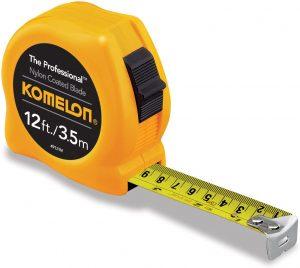 Cinta métrica de Komelon de 3,5 metros - Las mejores cintas métricas que comprar por internet - Mejor cinta métrica del mercado
