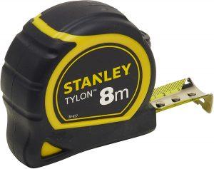 Cinta métrica de Stanley de 8 metros - Las mejores cintas métricas que comprar por internet - Mejor cinta métrica del mercado