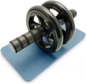 Doble rueda para abdominales CampTeck - Las mejores ruedas de abdominales para entrenamiento en casa que comprar por internet - Mejores ruedas para hacer abdominales online