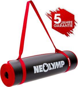Esterilla de entrenamiento NEOLYMP - Las mejores esterillas de fitness y yoa para entrenamiento en casa que comprar por internet - Mejores esterillas de yoga