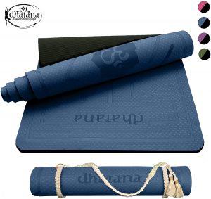 Esterilla de yoga Dharana - Las mejores esterillas de fitness y yoa para entrenamiento en casa que comprar por internet - Mejores esterillas de yoga