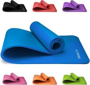 Esterilla de yoga, pilates y fitness de KG Physio - Las mejores esterillas de fitness y yoa para entrenamiento en casa que comprar por internet - Mejores esterillas de yoga