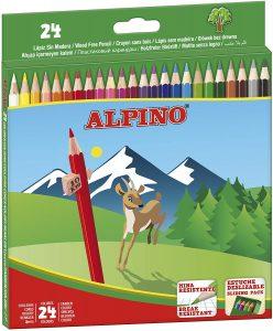 Estuche de lápices de colores de Alpino de 24 - Los mejores estuches de lápices de colores que comprar por internet - Mejores lápices de colores online