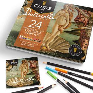 Estuche de lápices de colores de Castle Art Supplies de 24 temático 3 - Los mejores estuches de lápices de colores que comprar por internet - Mejores lápices de colores online