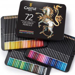 Estuche de lápices de colores de Castle Art Supplies de 72 - Los mejores estuches de lápices de colores que comprar por internet - Mejores lápices de colores online