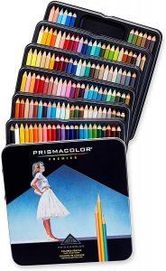 Estuche de lápices de colores de Prismacolor Premier Sanford de 132 unidades - Los mejores estuches de lápices de colores que comprar por internet - Mejores lápices de colores online