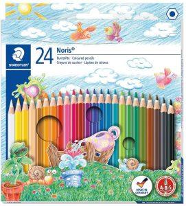 Estuche de lápices de colores de Staedtler de 24 - Los mejores estuches de lápices de colores que comprar por internet - Mejores lápices de colores online