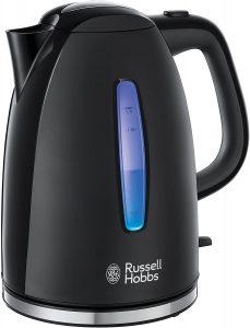 Hervidor de Agua Eléctrico de Russell Hobbs Textures de 1,7 litros - Los mejores Hervidores de Agua Eléctricos que comprar en internet - Hervidor de Agua Eléctrico para calentar agua para té online