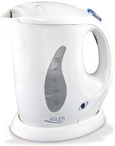 Hervidor de Agua Eléctrico de adler AD 02 de 0.6 litros - Los mejores Hervidores de Agua Eléctricos que comprar en internet - Hervidor de Agua Eléctrico para calentar agua para té online