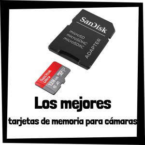 Las mejores tarjetas de memoria SD para cámaras fotográficas