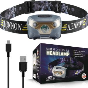 Linterna Frontal LED Aennon - Los mejores frontales LED que comprar en internet - Linterna Frontal LED online