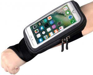 Muñequera deportiva para correr RevereSport - Las mejores fundas de móvil para correr que comprar por internet - Mejores fundas para el móvil para hacer deporte