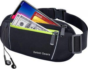 Riñonera para el móvil de Befekt Gears - Las mejores fundas de móvil para correr que comprar por internet - Mejores fundas para el móvil para hacer deporte