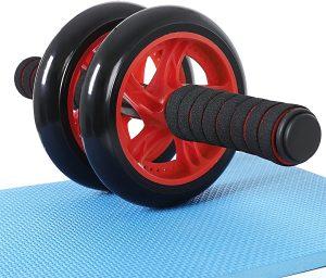 Rodillo de rueda para abdominales económica de SONGMICS - Las mejores ruedas de abdominales para entrenamiento en casa que comprar por internet - Mejores ruedas para hacer abdominales online