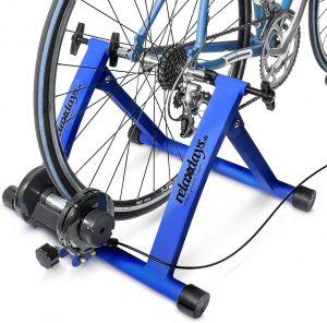 Rodillo magnético para bicicletas de Relaxdays - Los mejores rodillos de ciclismo para fijación de bicicletas que comprar en internet - Rodillo para bicicletas online