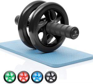 Rueda de abdominales BODYMATE - Las mejores ruedas de abdominales para entrenamiento en casa que comprar por internet - Mejores ruedas para hacer abdominales online