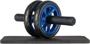 Rueda de abdominales Ultrasport con alfombrilla - Las mejores ruedas de abdominales para entrenamiento en casa que comprar por internet - Mejores ruedas para hacer abdominales online