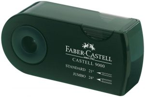 Sacapuntas de lápiz de Faber-Castell 9000 - Los mejores sacapuntas para lápices de colores que comprar por internet - Mejores sacapuntas online