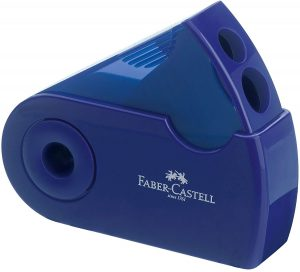 Sacapuntas de lápiz de Faber-Castell con color aleatorio - Los mejores sacapuntas para lápices de colores que comprar por internet - Mejores sacapuntas online
