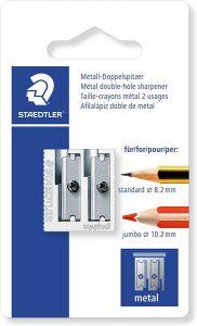Sacapuntas de lápiz de Staedtler con doble agujero - Los mejores sacapuntas para lápices de colores que comprar por internet - Mejores sacapuntas online