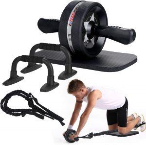 Set de herramientas para ejercicios en casa 4 en 1 EnterSports - Los mejores sets para entrenamiento en casa que comprar por internet - Kits de entrenamiento en casa online