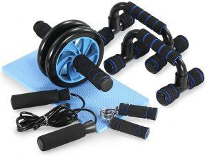 Set de herramientas para ejercicios en casa 5 en 1 TOMSHOO - Los mejores sets para entrenamiento en casa que comprar por internet - Kits de entrenamiento en casa online
