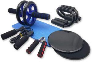 Set de herramientas para ejercicios en casa 6 en 1 Azeekoom - Los mejores sets para entrenamiento en casa que comprar por internet - Kits de entrenamiento en casa online