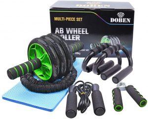 Set de herramientas para ejercicios en casa 6 en 1 DOBEN - Los mejores sets para entrenamiento en casa que comprar por internet - Kits de entrenamiento en casa online