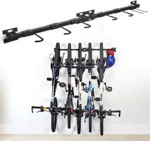 Soporte para bicicletas de pared para rueda para varias bicicletas - Los mejores soportes para el mantenimiento de bicicletas que comprar en internet - Soporte ciclismo para bicicletas