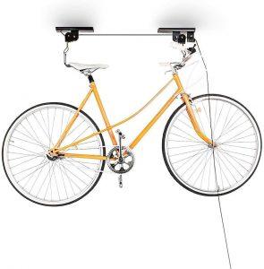 Soporte para bicicletas de techo de Relaxdays - Los mejores soportes para el mantenimiento de bicicletas que comprar en internet - Soporte ciclismo para bicicletas de pared, techo o suelo online
