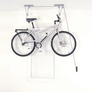 Soporte para bicicletas de techo de Silverline - Los mejores soportes para el mantenimiento de bicicletas que comprar en internet - Soporte ciclismo para bicicletas de pared, techo o suelo online