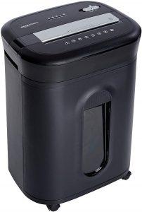 Trituradora de corte cruzado AmazonBasics hasta 15 hojas - Las mejores trituradoras de papel que comprar por internet - Mejor destructora de papel del mercado