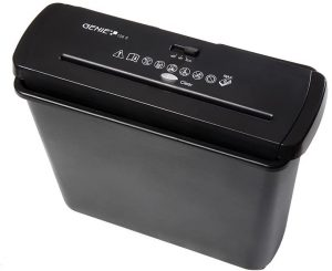 Trituradora de papel Genie 106 - Las mejores trituradoras de papel que comprar por internet - Mejor destructora de papel del mercado