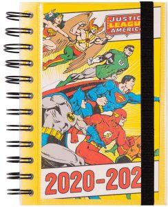 Agenda curso 2020-2021 de Erik - DC Liga de la Justicia - Las mejores agendas escolares 2020 2021 que comprar por internet