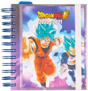 Agenda curso 2020-2021 de Erik - Dragon Ball - Las mejores agendas escolares 2020 2021 que comprar por internet