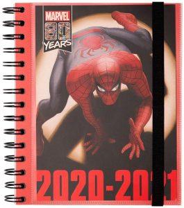 Agenda curso 2020-2021 de Erik - Marvel Spiderman - Las mejores agendas escolares 2020 2021 que comprar por internet