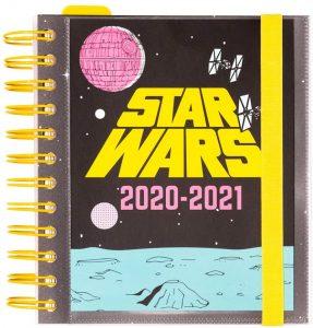 Agenda curso 2020-2021 de Erik - Star Wars - Las mejores agendas escolares 2020 2021 que comprar por internet
