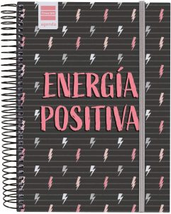 Agenda curso 2020-2021 de Finocam - Energía positiva - Las mejores agendas escolares 2020 2021 que comprar por internet