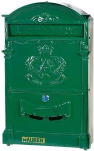 Buzón de correos de exterior MAURER 3080605 - Los mejores buzones de correos que comprar por internet - Mejores buzones de exterior del mercado