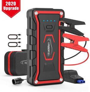 Cargador de Batería para el Coche Yaber - Los mejores cargadores de batería con pinzas para el coche que comprar por internet - Comprar el mejor cargador de baterías para el coche del mercado