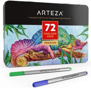 Estuche de rotuladores de colores de Arteza de 72 unidades - Los mejores estuches de rotuladores de colores que comprar por internet - Mejores rotuladores de colores online