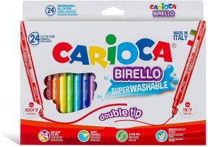 Estuche de rotuladores de colores de Carioca de 24 unidades - Los mejores estuches de rotuladores de colores que comprar por internet