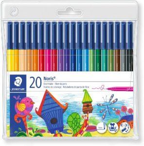 Estuche de rotuladores de colores de Staedtler de 20 unidades - Los mejores estuches de rotuladores de colores que comprar por internet - Mejores rotuladores de colores online
